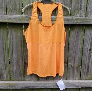 Fabletics Reese Tank XL NWT Neon Orange Racerback